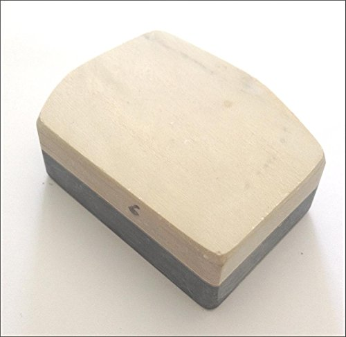 Preisvergleich Produktbild Schleifstein Original Gelber Belgischer Brocken Grösse 2 (19-22 cm²) Messer-Schärfer