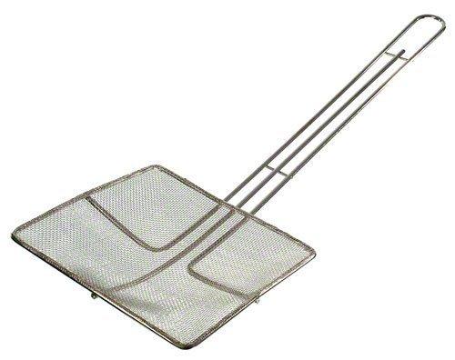 Update International SKM-SQF Nickel Plated Medium Mesh Wire Skimmer, Square, 6-1/2-Inch by Update International Nickel Wire Mesh