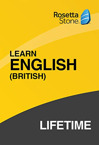 Rosetta Stone Lifetime Subscription English (British) PC/Mac Code activation via email|Personal|1 User, multiple devices|LIFETIME|PC/Mac/Smartphone|Download|Download (Rosetta Stone Pc)