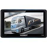 Xgody - Navegación GPS Portátil para Coche con Bluetooth de 7 Pulgadas y Pantalla Táctil capacitiva