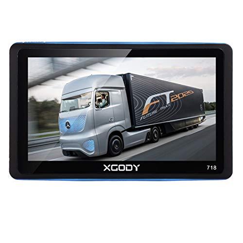 xgody Tragbar Auto Truck GPS Navigation 718mit Bluetooth 17,8cm Kapazitive Touchscreen Sat NAV Kostenloser lebenslanger Map Updates mit Rückfahrkamera Backup Kamera (Garmin-backup-kamera)