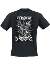 BRDigung - Zwischen Engeln Und Teufeln T-Shirt mit Rückendruck