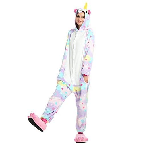 6ee2517ddc Mystery Melody Unicornio Pijamas Cosplay Disfraces Animales Franela ...