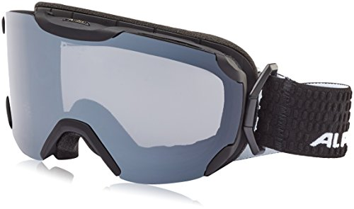 ALPINA Pheos S MM Skibrille, Black Matt, One Size