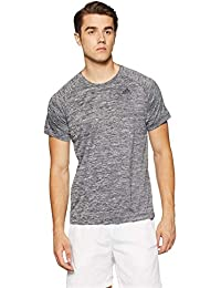 Adidas Men's Solid Regular Fit T-Shirt