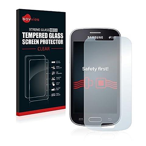 Savvies Film Protection Verre Trempé Samsung Galaxy Trend Lite Film