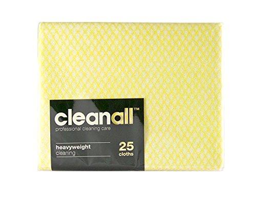 cleanall jcc25y carrello professionale, panno, pesante, giallo (Confezione da 24)