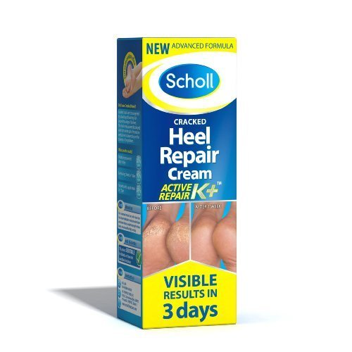 - Scholl Skin Care Cracked Heel Repair Cream Active Repair K+ - 120ml by Scholl