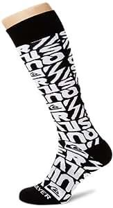 Quiksilver Herren Socken Steady Socks, Dipped Black, S/M, KTMSX134-KVJ7