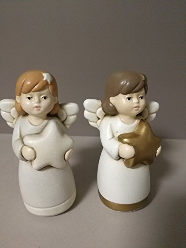 Egan Stock 14 Anges Assortis H 13 cm