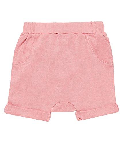 Sense Organics Baby-Mädchen Hose Emilio Shorts GOTS-Zertifiziert, Rosa (Rose 700028), 80 (Herstellergröße: 9M) (Rosa Baby-mädchen Rosen)