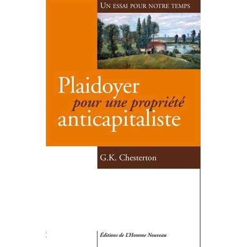 Plaidoyer pour une propriété anticapitaliste - Un essai pour notre temps