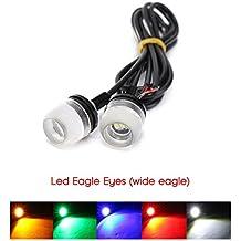 2 luces de estacionamiento LED para coche, atornillable, impermeables, homologadas