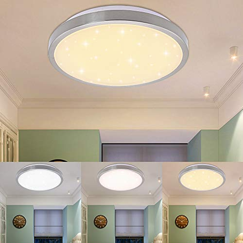 Led Deckenlampe Deckenleuchte Modern Lampe Leuchte Wohnzimmerlampe Beleuchtung Mit Traditionellen Methoden Leuchten & Leuchtmittel