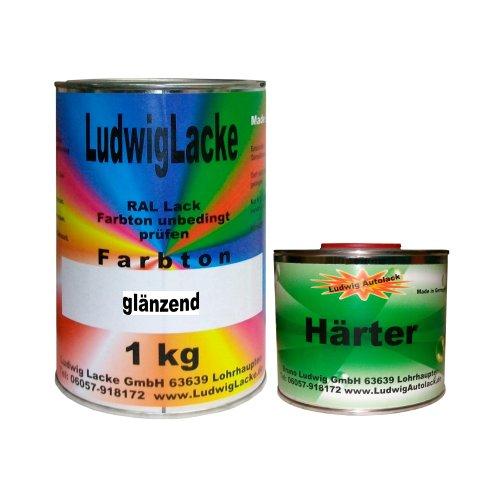 Preisvergleich Produktbild 1,5 kg Set Lack mit Härter RAL 7012 Basaltgrau
