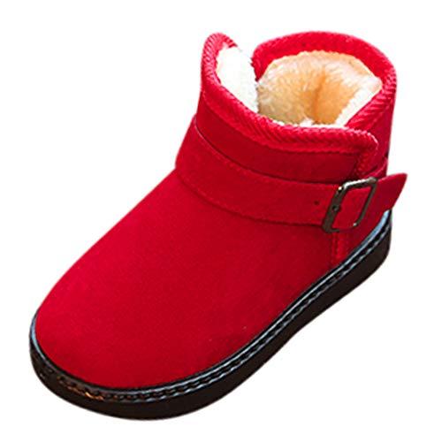 Beikoard Baby Kinder Kinder Winter Schnee Stiefel und SAMT Rutschfeste Stiefel warme Schuhe Schuhe Freizeitschuhe