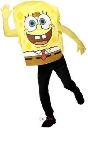 Sponge Bob Karneval Kostüm Erwachsene Größe -