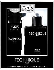 ARIS Technique Men Eau De Perfume-100 ml and Deodorant-200 ml