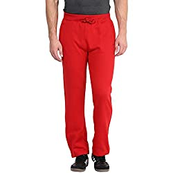 American Crew Red Fleece Sweatpants - L (ACTP207-L)
