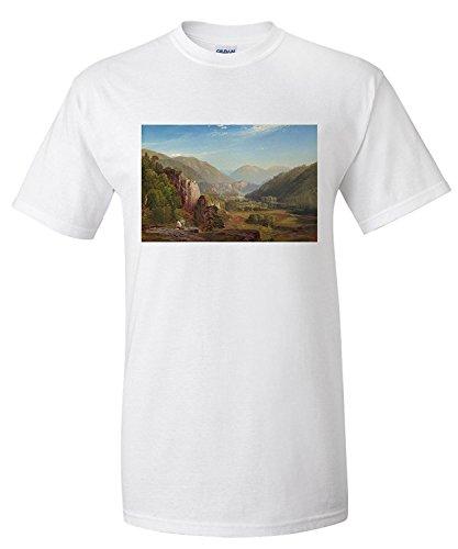 the-juniata-evening-masterpiece-classic-artistthomas-moran-c-1864-premium-t-shirt