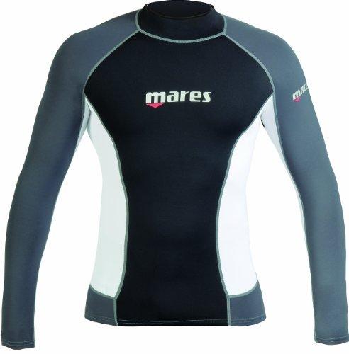 Mares UV-Shirt Uomo Lycra Rashguard, LS MD