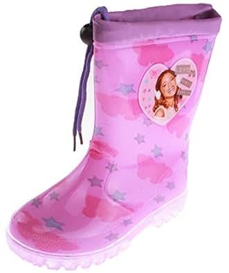 Bottes de pluie enfant fille Violetta Violet du 26 au 36 (26, Violet)