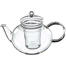 Trendglas Jena Miko - Tetera con filtro de cristal (1,2 L, diseño clásico)