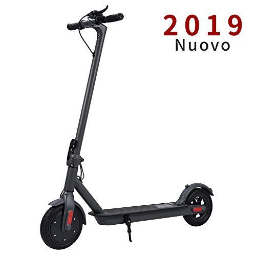 Doogoo Monopattino Elettrico, velocità Massima 30km/h, 30 km di Autonomia, Ruote 8,5'' Pneumatici Pieghevole Scooter per Adulto
