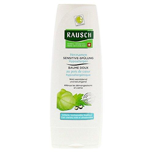 Rausch Herzsamen Sensitive-Spülung (Hypoallergen wirkt reizmildernd, beruhigend und feuchtigkeitsspendend - Vegan), 1er Pack (1 x 200 ml)