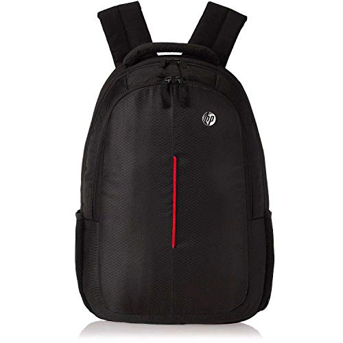 7cad03458728 Porro Fino Laptop Bag Backpack for 15.6 Laptops Hp Black and Red Bag for  School