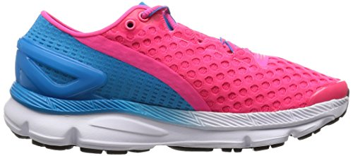 Under Armour Ua W Speedform Gemini 2, Chaussures de Sport Femme Rouge