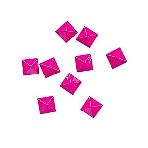 ELFGEN Snowboard Anti Rutschpad LITTLE PYRAMIDS Stomp Pad pink