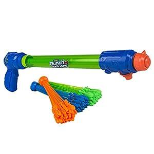X-Shot - Bunch O Balloons Pistola agua 2 en 1: llena globos y lanza agua hasta 9 metros (ColorBaby 42852)