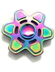 Agitarsi Spinner mano giocattolo, giocattolo di MALLCROWN Spinner par alleviare TDAH, ansia, noia EDC, sforzo di riduzione, dando fumatori noia e relajarse bambini e adultos