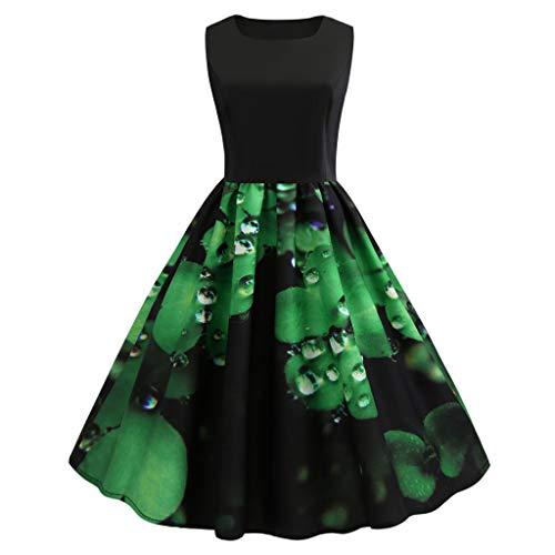 ef6b5a34e1fa Vestito Donna Elegante per St. Patrick s Day