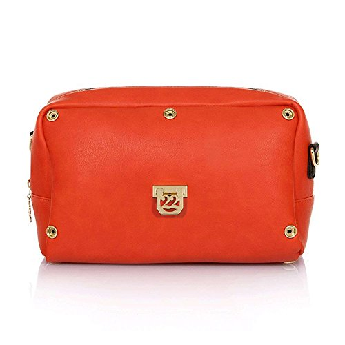 Numeroventidue BODY TURTLE MEDIUM Borse Accessori Orange Orange TU
