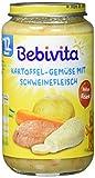 Bebivita Kartoffel-Gemüse mit Schweinefleisch, 6er Pack (6 x 250 g)