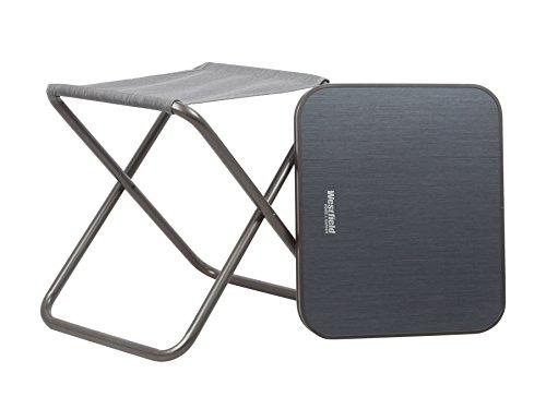 Westfield Kobold 2 en 1 Camping pliable Tabouret avec dessus de table détachable