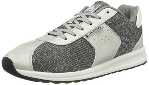 L.A. Gear Damen Monterey Sneaker Silber (Silver)