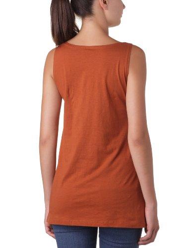 Cheap Monday - Maglietta con logo, donna Arancione (Copper)