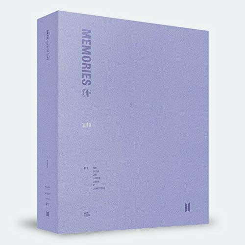 Bighit BTS Bangtan Boys - BTS Memories of 2018 DVD 4DVD+226p Photobook+Paper Frame&Postcard+Clear Photo Index+Sticker+Photocard+Double Side Extra Photocards Set Audio-480 Stereo
