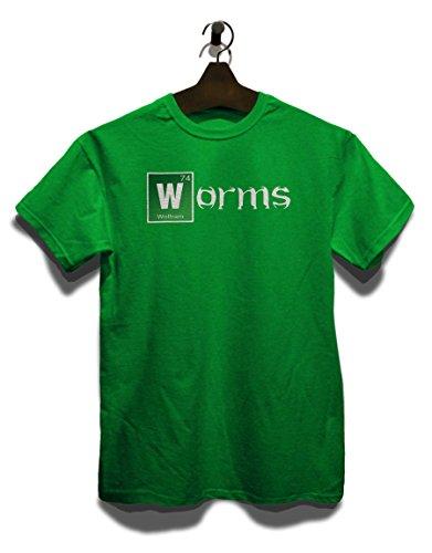 Worms T-Shirt Grün