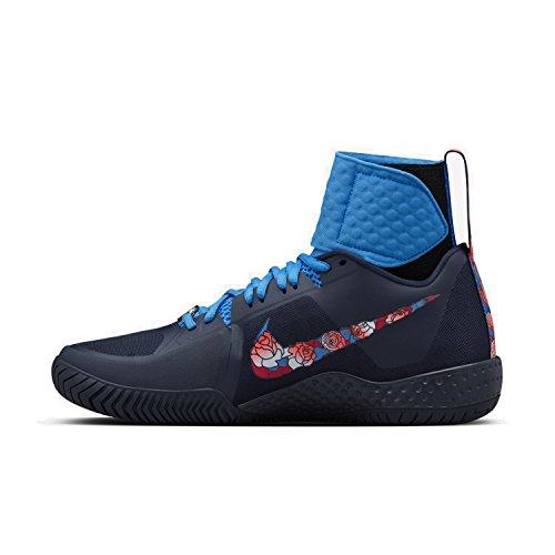 Nike Wmns Flare Lg Qs, Scarpe da ginnastica Donna Bianco (Blanco (Obsidian / White-Photo Blue))