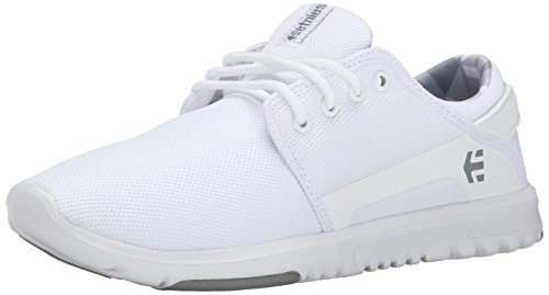 Etnies Scout W'S, Sneakers basses femme Blanc (954 / WHITE/PRINT)