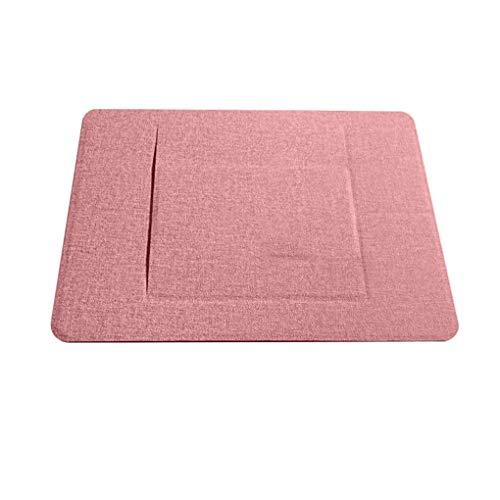 Dorical Laptop Stand 17 cm X 22.4 cm verstellbar Notbook Ständer Unsichtbarer Komfortabler der nahtlos in Ihren Laptop integriert ist Rosa
