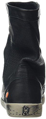 Softinos IGGY348SOF smooth, Bottes Classiques femme Noir - Noir