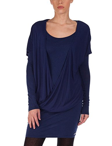 Bench Damen Kleid Jerseykleid Acutabove blau (Medieval Blue) Small