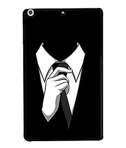 PrintVisa Designer Back Case Cover for Apple iPad Mini 2 :: Apple iPad Mini 2 Wi-Fi + Cellular (3G/LTE); Apple iPad Mini 2 Wi-Fi (Wi-Fi, w/o GPS) (Dark Illustration Drawing Paint Backcase Pouch White)