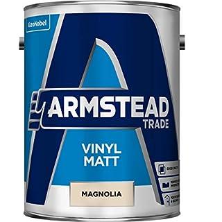 Armstead Trade Vinyl Matt Paint Magnolia 5 litres