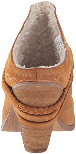 Not Rated Big Bear Femmes Synthétique Mules Tan